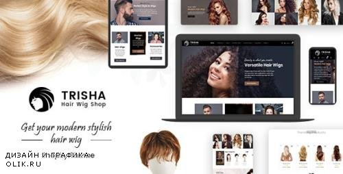 ThemeForest - Trisha v1.0 - Hair Weave, Wig Marketplace Shopify - 24430529