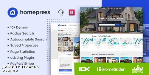 ThemeForest - HomePress v1.1.3 - Real Estate WordPress Theme - 23980909 - NULLED