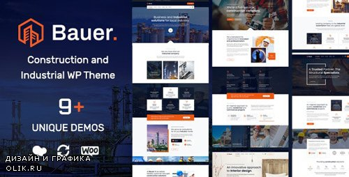 ThemeForest - Bauer v1.3 - Construction and Industrial WordPress Theme - 23904858