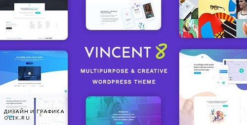 ThemeForest - Vincent Eight v1.3 - Responsive Multipurpose WordPress Theme (Update: 12 December 19) - 23178218