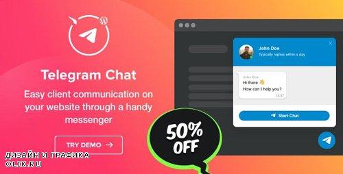 CodeCanyon - Telegram Chat v1.0.0 - Plugin for WordPress - 25288599