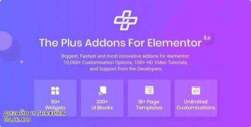 CodeCanyon - The Plus v3.0.6 - Addon for Elementor Page Builder WordPress Plugin - 22831875 -