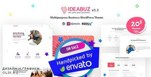 ThemeForest - Ideabuz v1.1 - Multipurpose Business WordPress Theme - 24222820