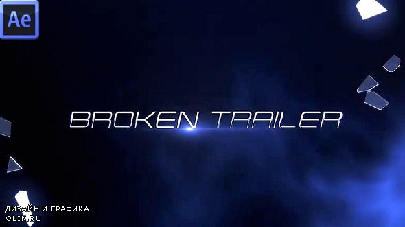 Broken Trailer 332481 - Premiere Pro Templates