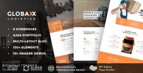 ThemeForest - Globax v2.0 - Logistics WordPress Theme + Woocommerce - 22380809