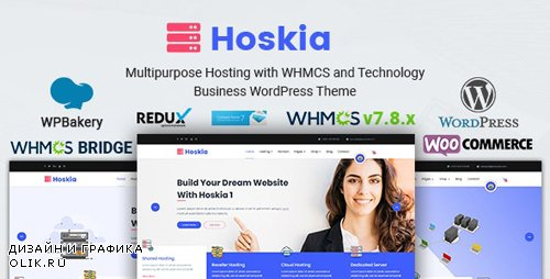 ThemeForest - Hoskia v2.4 - Multipurpose Hosting with WHMCS Theme - 21574536