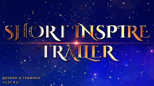 Short Inspire Trailer 321476 - After Effects Templates