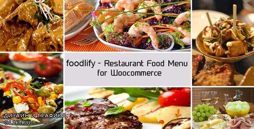 CodeCanyon - Foodlify v1.2 - Restaurant Food Menu for Woocommerce - 11493327
