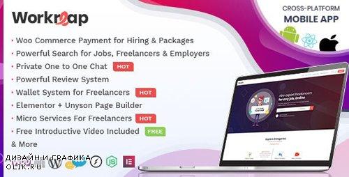 ThemeForest - Workreap v1.3.6 - Freelance Marketplace and Directory WordPress Theme - 23712454