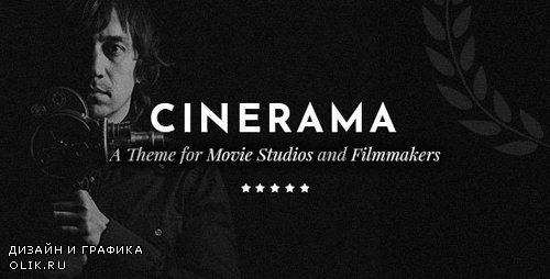 ThemeForest - Cinerama v1.7 - A Theme for Movie Studios and Filmmakers - 22037150