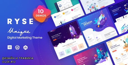 ThemeForest - Ryse v1.4.0 - SEO & Digital Marketing Theme - 24085168