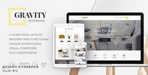 ThemeForest - Gravity v1.2.4 - A Contemporary Interior Design & Furniture Store WordPress Theme - 19894220