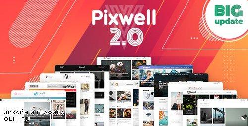 ThemeForest - Pixwell v2.2 - Modern Magazine - 24689900