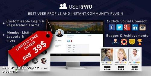 CodeCanyon - UserPro v4.9.36 - Community and User Profile WordPress Plugin - 5958681 - NULLED