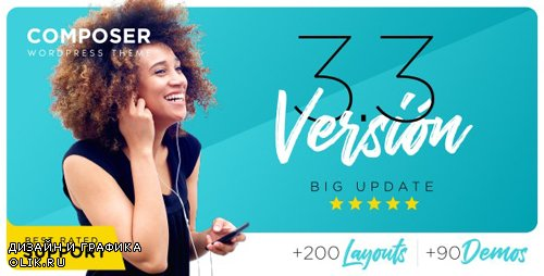 ThemeForest - Composer v3.3.6 - Responsive Multi-Purpose High-Performance WordPress Theme - 13454476