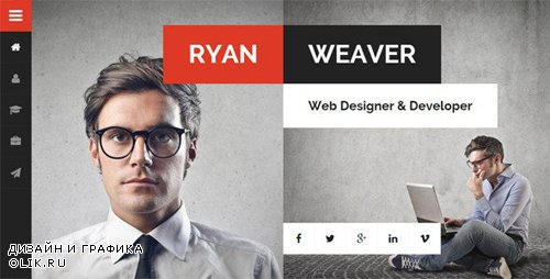 ThemeForest - Divergent v2.3.1 - Personal Vcard Resume WordPress Theme - 13224711