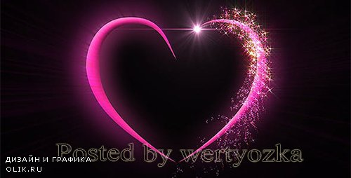 Videohive - Magical Valentine`s Heart -  148696
