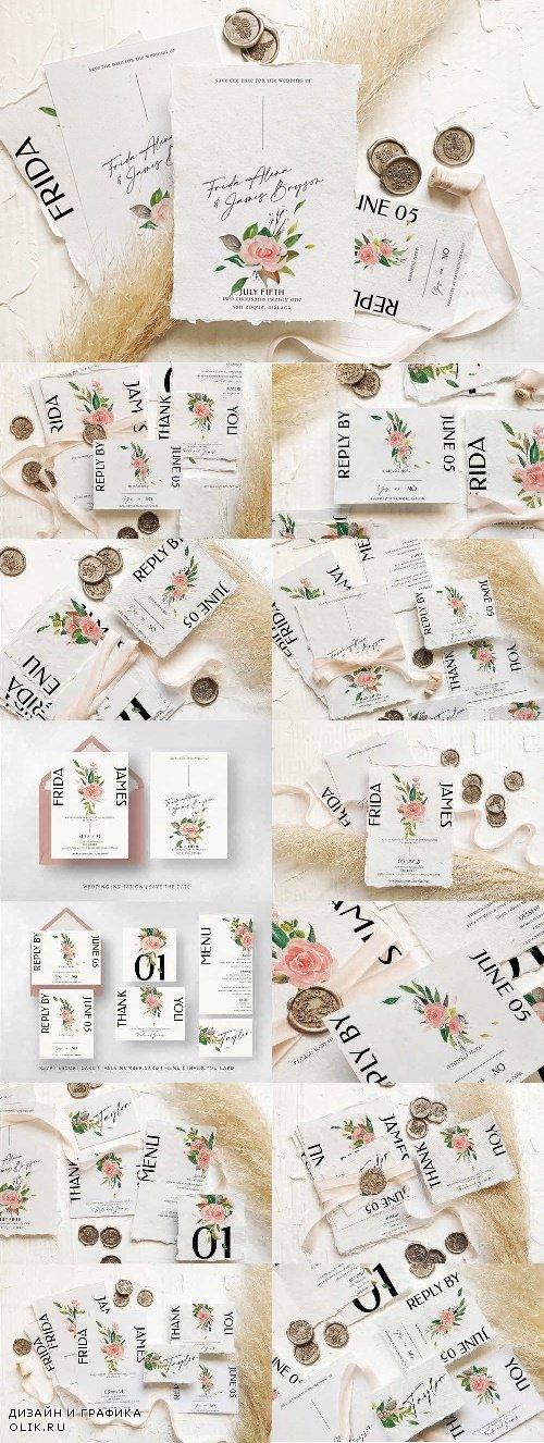 Rose & Foliage Wedding Suite - 4492713