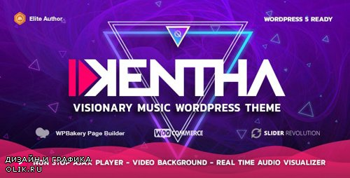 ThemeForest - Kentha v2.0.1 - Non-Stop Music WordPress Theme with Ajax - 21148850 -