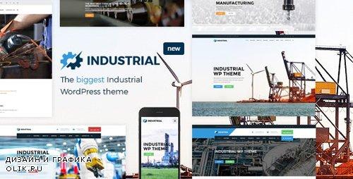ThemeForest - Industrial v1.4.5 - Factory Business WordPress Theme - 15776179