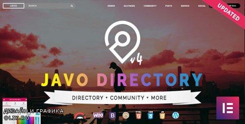 ThemeForest - Javo Directory v4.1.2 - WordPress Theme - 8390513