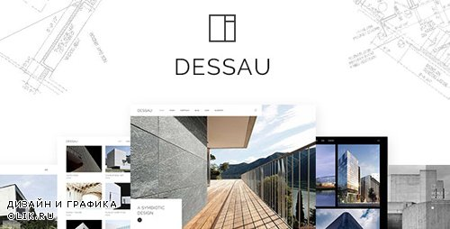 ThemeForest - Dessau v1.2 - Contemporary Theme for Architects and Interior Designers - 22145705