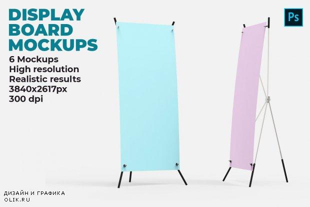 Display Board Mockups - 4508594