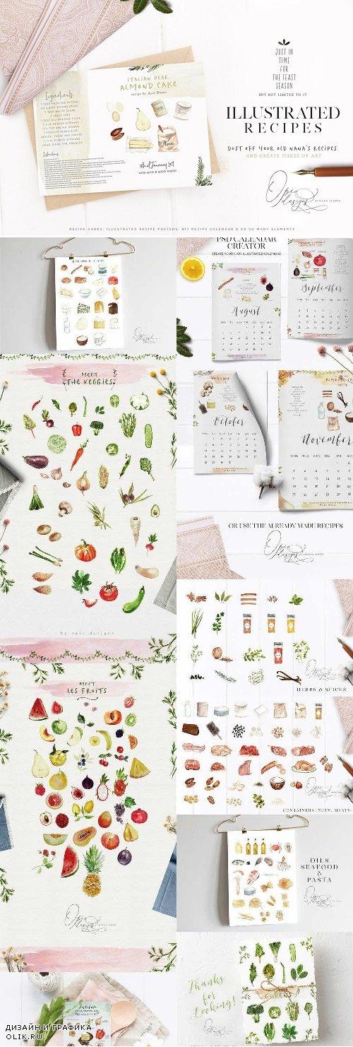 Illustrated Recipes Creator - 3051295