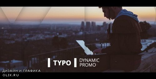 Dynamic Typo Promo 20192794 - Project for After Effects (Videohive)