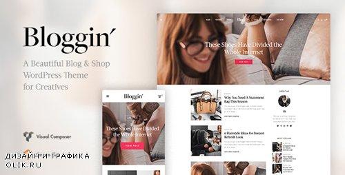 ThemeForest - Blggn v1.4.0 - A Responsive Blog & Shop WordPress Theme - 22090116