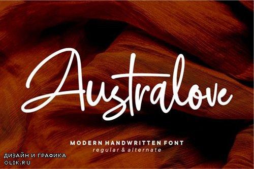 Australove Font