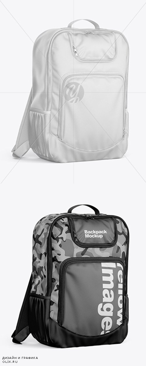 Backpack Mockup 52132 TIF
