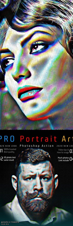 PRO Portrait Art PHSP Action 25635762