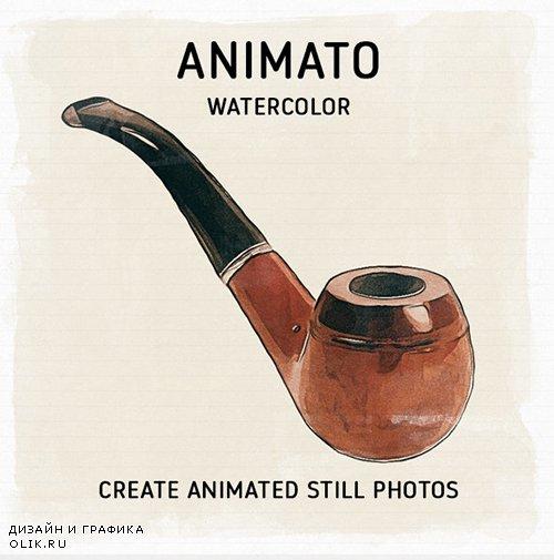 ANIMATO - Animated Watercolor Effect 25294309