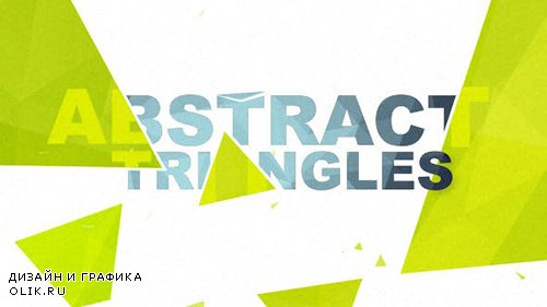 VH - Abstract Triangles Logo Reveal 10055844