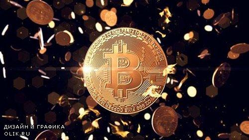 Bitcoin logo reveal 25055399