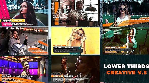Lower Thirds - Creative V.3 - 359173 - After Effects Templates