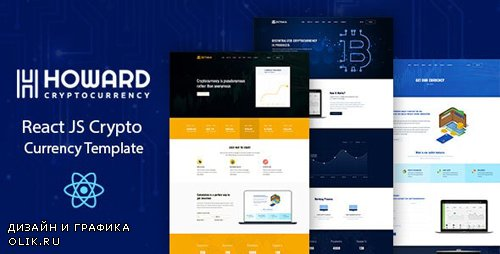 ThemeForest - Howard v1.0 - React JS Crypto Currency Template - 25696623