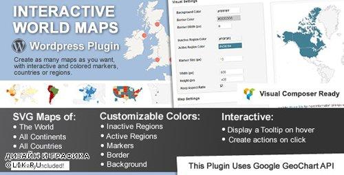 CodeCanyon - Interactive World Maps v2.4.5 - 2874264