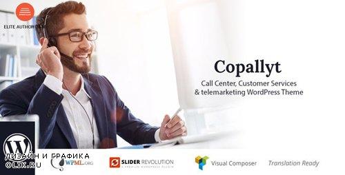 ThemeForest - Copallyt v3.1 - Call Center & Telemarketing WordPress Theme - 21062630