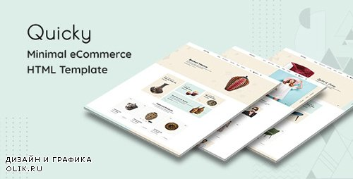 ThemeForest - Quicky v1.0 - Clean, Minimal eCommerce HTML Template - 25766270