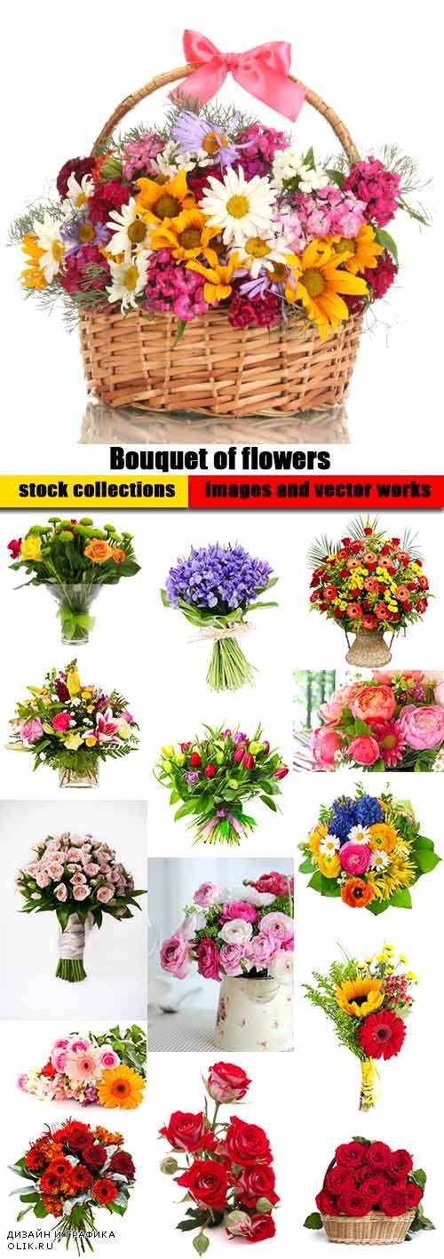 Bouquet of flowers - 25 HQ Jpg