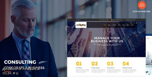 ThemeForest - Consulting v2.9 - Corporate and Business WordPress Theme - 16085580