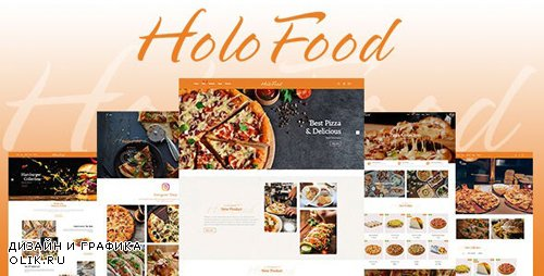 ThemeForest - HoloFood v1.0.0 - Fast Food & Restaurant Shopify Theme - 25570363
