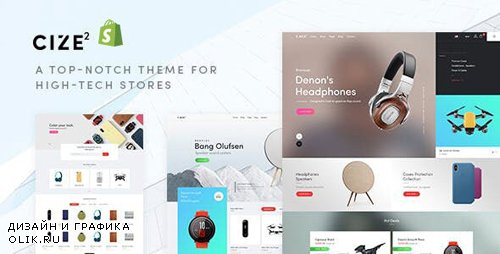 ThemeForest - Cize v1.0.0 - Electronics Store Shopify Theme - 25363939