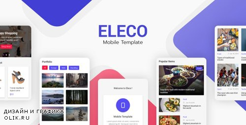 ThemeForest - Eleco v1.0 - Mobile Template (Update: 18 February 20) - 23062399