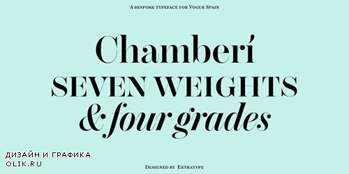 Chamberi Font