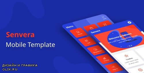 ThemeForest - Senvera v1.0 - Mobile Template (Update: 18 February 20) - 25767056