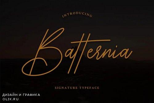 Batternia Font