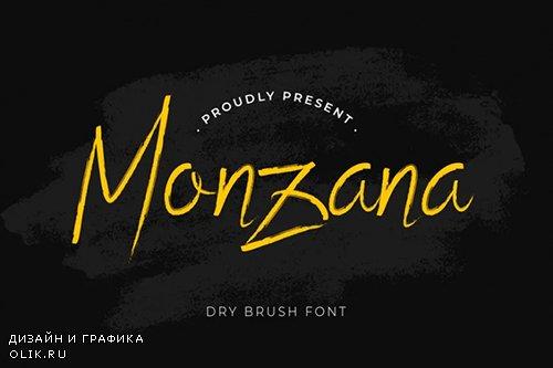 Monzana Font
